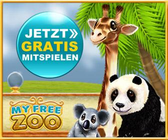 MyFreeZoo - baue deinen eigenen verr�ckten Zoo.MyFreeZoo begeisterte bereits in der Betaphase �ber 100.000 Spieler mit zahlreichen orginellen Spielelementen. MyFreeZoo - die beliebte Zoosimulation.   - zum Browserspiel hier klicken
