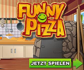 Browsergame Funny Pizza kostenlos spielen