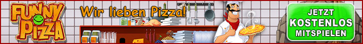 Browsergame Funny Pizza kostenlos spielen